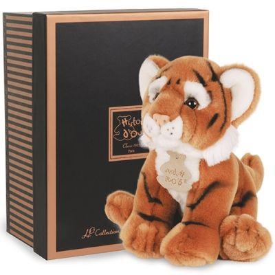 Peluche tigre Prestige (20 cm) Histoire d'Ours