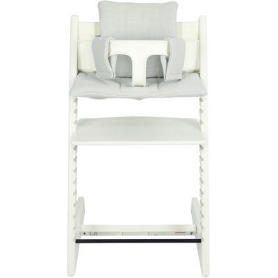 Coussin de chaise haute Tripp Trapp de Stokke Bliss gris  par Les Rêves d'Anaïs