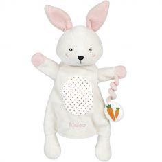 Peluche marionnette lapin Robin Kachoo