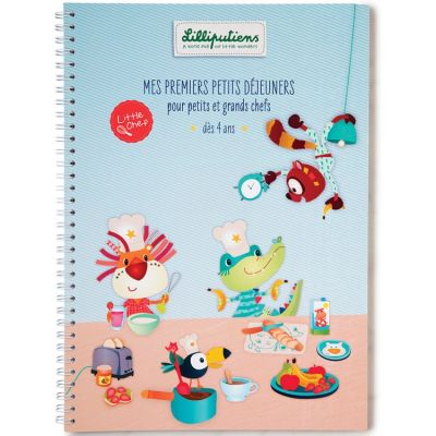 Livre de recettes Mes premiers petits déjeuners Little Chef  par Lilliputiens