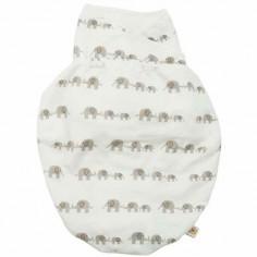 Couverture d'emmaillotage éléphant