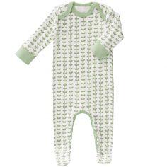 Pyjama léger Feuille verte (6-12 mois : 67 à 74 cm)