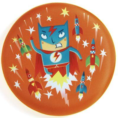 Frisbee super-héros Flying Hero  par Djeco