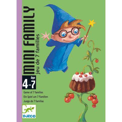Jeu de 7 familles Mini family (28 cartes)  par Djeco