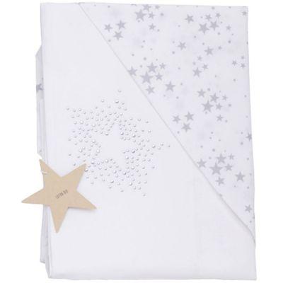 Drap + taie d'oreiller étoiles Constellation (120 x 180 cm)  par Nougatine