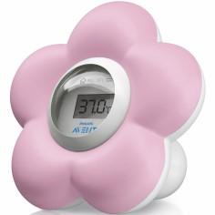 Thermomètre de bain et chambre numérique rose
