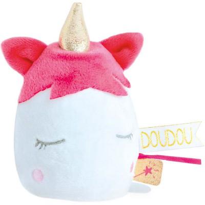 Doudou veilleuse licorne vanille fraise Doudou et Compagnie