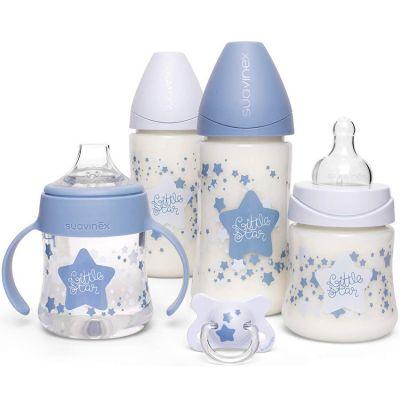 Coffret de naissance My Essentials étoile bleu  par Suavinex
