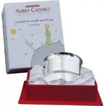Rond de serviette Le Petit Prince mouton personnalisable (métal argenté)  par Aubry-Cadoret