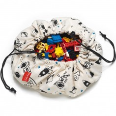 Mini sac à jouets 2 en 1 Espace