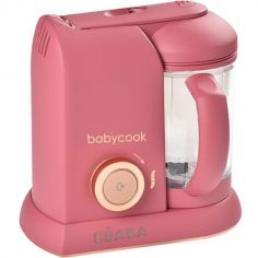 Robot cuiseur Babycook Solo rose litchi