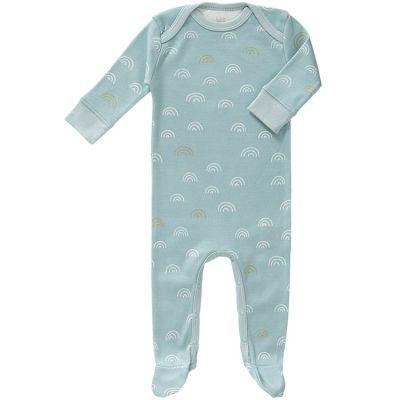 Pyjama léger Rainbow bleu (0-3 mois)  par Fresk