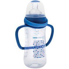 Biberon à anses Perfect Sense Little Valeeys bleu (270 ml)