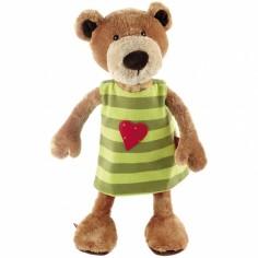 Peluche ours avec robe réversible Sweety (40 cm)