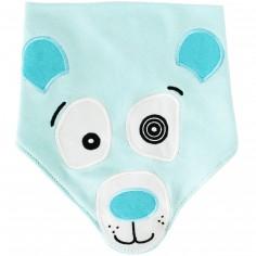 Bavoir bandana Illicos l'ours polaire