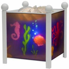 Lanterne magique ''Mer'' blanche