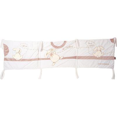 Tour de lit Mon tout petit lapin (pour lit 60 x 120 cm) Doudou et Compagnie