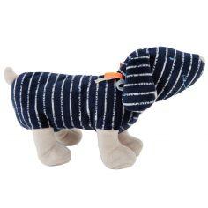 Peluche Jack en veloudoux Aston & Jack chien bleu (25 cm)