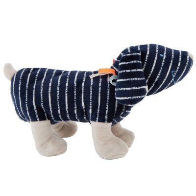 Peluche Jack en veloudoux Aston & Jack chien bleu (25 cm)  par Noukie's