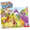 Puzzle Le Prince et le Dragon (54 pièces) - Goula