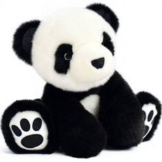 Peluche panda So Chic noir (25 cm)