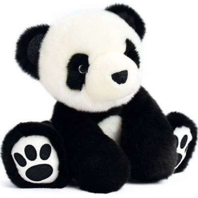 Peluche panda So Chic noir (25 cm) Histoire d'Ours