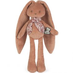 Peluche Lapinoo pantin lapin terracotta (25 cm)