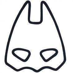 Déco murale Batman en tricotin (personnalisable)