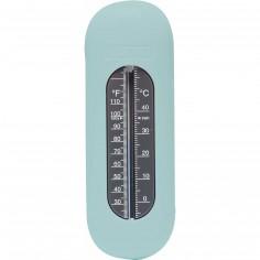 Thermomètre de bain vert d'eau