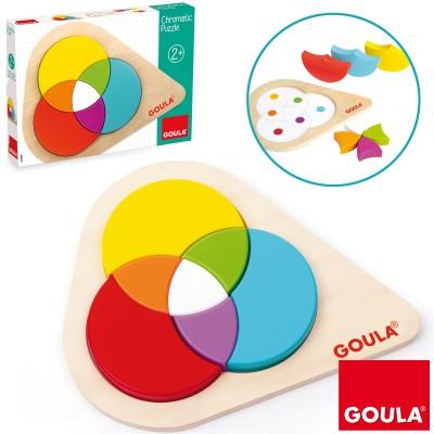 Jeu à encastrer Mix couleur puzzle Goula
