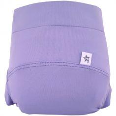 Culotte couche lavable classique TE2 mauve (Taille L)