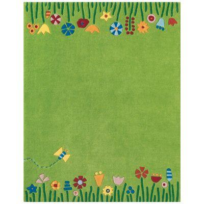 tapis fleur dans le pr 135cm x 105cm haba - Tapis Fleur