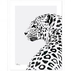 Affiche le léopard (30 x 40 cm)