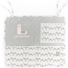 Vide-poches à suspendre gris Lamamour