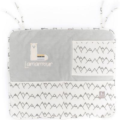 Vide-poches à suspendre gris Lamamour  par Nougatine