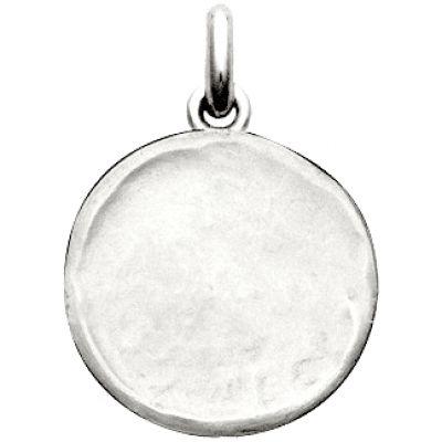 Médaille laïque martelée (argent 925°)  par Becker