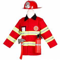Veste de pompier avec accessoires (5-7 ans)