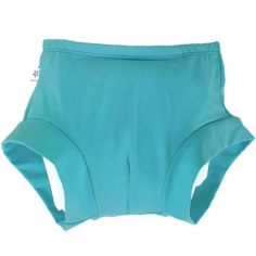 Boxer enfilable couche lavable TE2 Turquoise (Taille L)