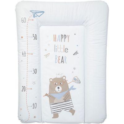 Matelas à langer ours Happy little bear (50 x 70 cm)