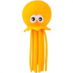 Arroseur de bain pieuvre neon orange