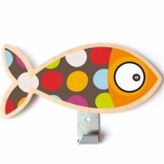 Patère poisson pois