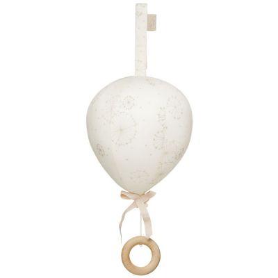 Mobile musical montgolfière Dandelion écru  par Cam Cam Copenhagen