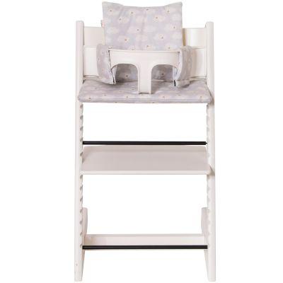 Assise Clouds pour chaise haute Stokke Tripp Trapp  par Trixie