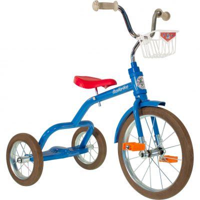 Tricycle Spokes avec panier avant 16'' bleu et rouge Italtrike
