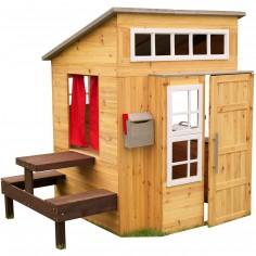 Cabane d'extérieur en bois