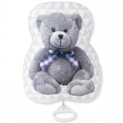 Coussin musical My Little Bear Domiva