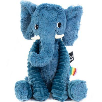 Peluche Les Ptipotos Dimoitou l'éléphant (26 cm)  par Les Déglingos