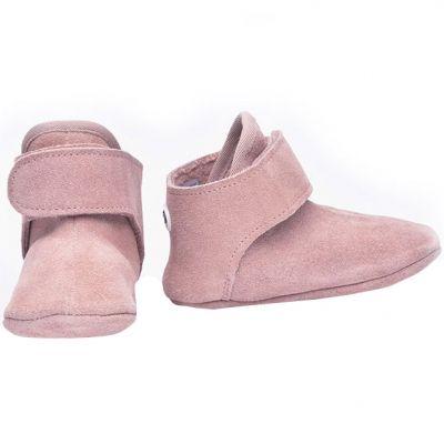 Bottes bébés en cuir rose (12-15 mois) Lodger