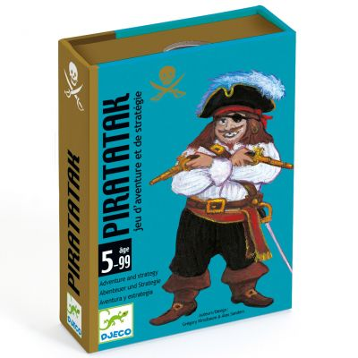 Jeu de cartes Piratatak (55 cartes)  par Djeco