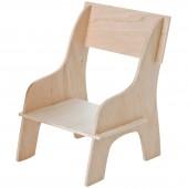 Petite chaise en bois pour poupée (12 x 19 cm) - Franck & Fischer